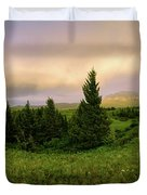 Warm The Soul Panorama Duvet Cover