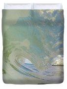 Warm Waves Duvet Cover