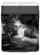 Warme Bode, Harz - Monochrome Version Duvet Cover