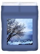 Warming Waters  Duvet Cover