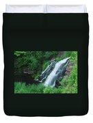 Warner Falls Duvet Cover by Michael Peychich