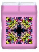 Warp Flower Duvet Cover