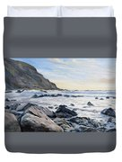Warren Point Sunset Duckpool Duvet Cover