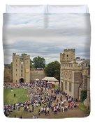 Warwick Castle Duvet Cover
