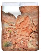 Wash 3 Of Valley Of Fire Duvet Cover