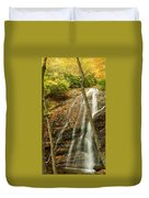 Wash Hollow Falls Nantahala National Forest Nc Duvet Cover