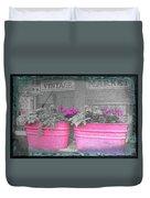 Wash Tub Planters Duvet Cover