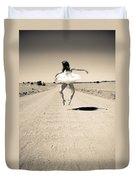 Washboard Ballet Duvet Cover