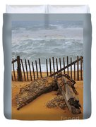 Washed Ashore Duvet Cover