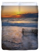 Washed Up Crab Cage 16x9 Duvet Cover