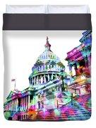 Washington Capitol Color 1 Duvet Cover