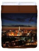 Washington Monument Night Sky Duvet Cover