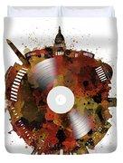 Washington Dc Skyline Vinyl 7 Duvet Cover