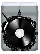 Washington Dc Skyline Vinyl 8 Duvet Cover