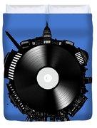 Washington Dc Skyline Vinyl 9 Duvet Cover