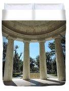 Washington Dc Veteran's Memorial Duvet Cover