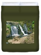 Washington Falls 3 Duvet Cover