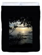 Washington Island Morning 4 Duvet Cover