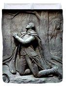 Washington Kneeling In Praying Duvet Cover