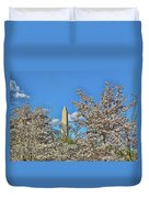 Washington Monument # 11 Duvet Cover