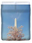 Washington Mounument Duvet Cover
