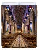 Washington National Cathedral Interior Duvet Cover