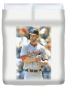Washington Nationals Bryce Harper Duvet Cover