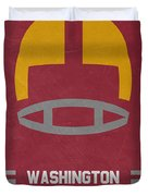 Washington Redskins Vintage Art Duvet Cover