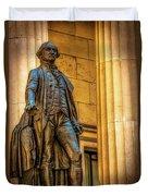 Washington Statue - Federal Hall #2 Duvet Cover
