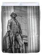 Washington Statue - Federal Hall #3 Duvet Cover