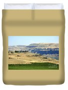 Washington Stonehenge With Vineyard Duvet Cover