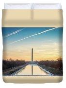 Washington Sunrise Duvet Cover