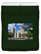 Washingtone Square New York Duvet Cover