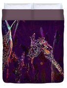 Wasp Insect Makrom Close Up Sting  Duvet Cover