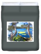 Wat-0002 Avoca Estuary Duvet Cover