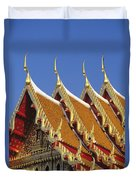 Wat Benjamabophit Duvet Cover