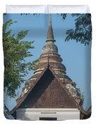 Wat Jed Yod Phra Ubosot Dthcm0967 Duvet Cover