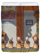Wat Mae Faek Luang Phra Wihan Daily Merit Bowls Dthcm1879 Duvet Cover