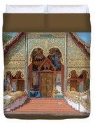 Wat Mae Faek Luang Phra Wihan Entrance Dthcm1876 Duvet Cover