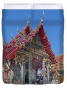 Wat Prachum Khongkha Phra Wihan Dthcb0174 Duvet Cover