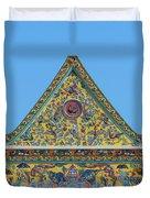 Wat Ratcha Orasaram Phra Wihan Gable Dthb0862 Duvet Cover
