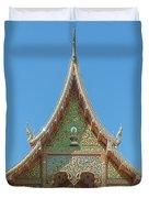 Wat Suan Prig Phra Wihan Gable Dthcm2391 Duvet Cover
