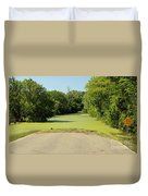 Watch For Water On Road Duvet Cover