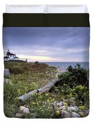 Watch Hill Lighthouse - Fm000062 Duvet Cover