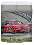 Watch Out Audi  Duvet Cover