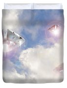 Watch The Sky Duvet Cover