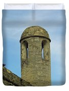 Watch Tower On The Castillo Duvet Cover