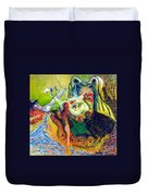 Watcher Of The Skies Duvet Cover