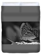 Watchful Butterfly Duvet Cover