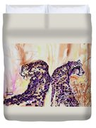 Watchful Eyes Duvet Cover